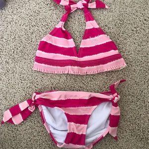 Girls Justice Striped Bikini